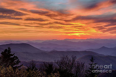 Photograph - Caney Fork Overlook Sunset by Jennifer Ludlum