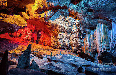 Photograph - Cango Cave Of South Africa by Anna Om