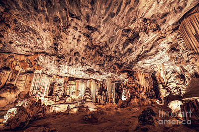 Photograph - Cango Caves, South Africa by Anna Om