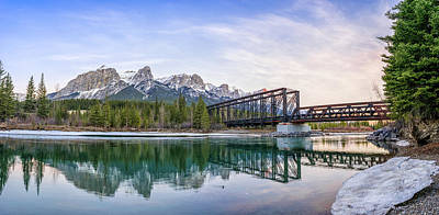 Photograph - Canmore Engine Bridge by Martin Capek