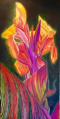 Canna Lily Original by Julie Martin