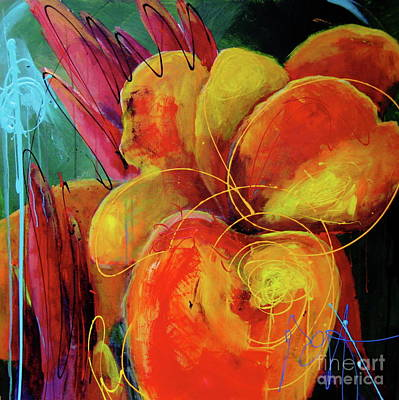 Canna Painting - Canna Lily by Roxanne Fawcett