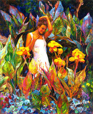 Canna Art Print