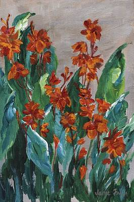 Painting - Cannas by Jamie Frier
