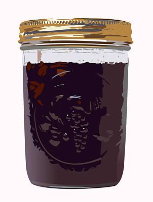 Canned Cherries Art Print by Robert Bissett