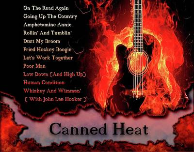 Photograph - Canned Heat by Michael Damiani
