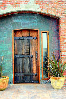 Cannery Door Art Print by Lynn Bawden