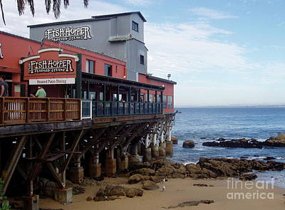 Photograph - Cannery Row by Carol  Bradley