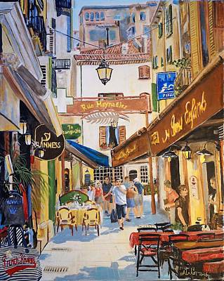 Painting - Cannes by Alan Lakin