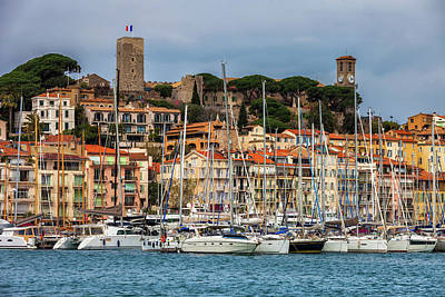 Photograph - Cannes City In France by Artur Bogacki
