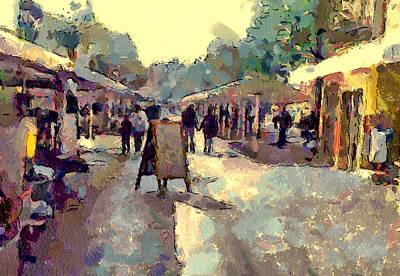Digital Art - Cannes Market by Yury Malkov