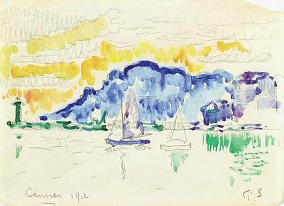 Cannes Painting - Cannes by Paul Signac