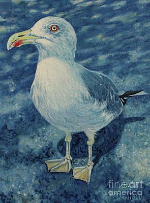 Cannes Seagull Art Print