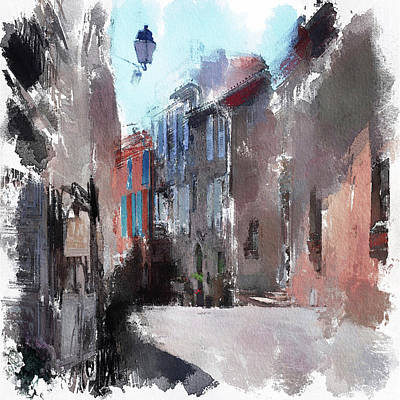 Digital Art - Cannes Vilages by Yury Malkov