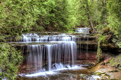 Photograph - Canning Falls  by Brian Boudreau