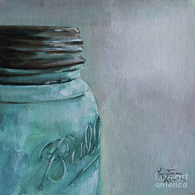 Painting - Canning Jar by Kristine Kainer