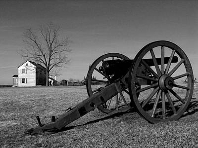 Cannon And The Henry House I Print by Steven Ainsworth