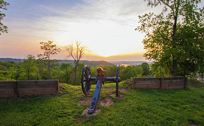 Photograph - Cannon At Fort Boreman by Jonny D