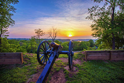 Photograph - Cannon At Sunset by Jonny D