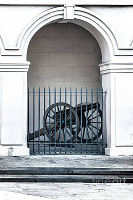 Photograph - Cannon At The Cabildo by Frances Ann Hattier