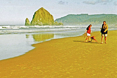 Photograph - Cannon Beach In Ecola State Park, Oregon by Ruth Hager