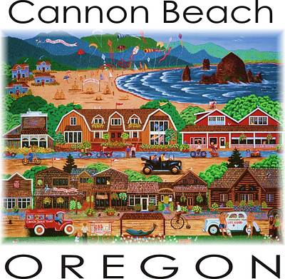 Painting - Cannon Beach by Jennifer Lake