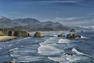 Photograph - Cannon Beach Oregon Dsc04265 by Greg Kluempers
