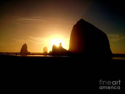 Photograph - Cannon Beach Oregon  by Guy Hoffman