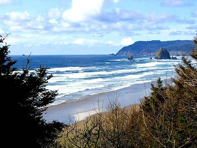 Cannon Beach Vista Art Print