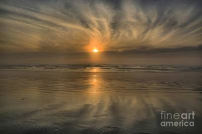 Photograph - Cannon Beach Winter Sunset by Adam Jewell