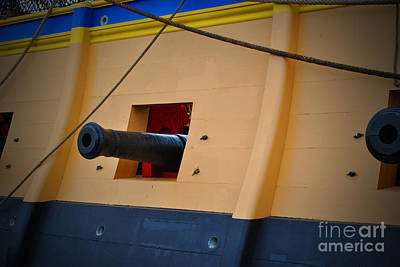 Moet Wall Art - Photograph - Cannon Box by Jost Houk