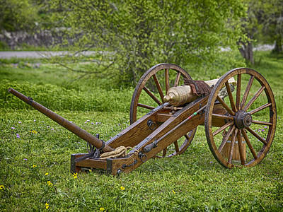 Photograph - Cannon by Charles McKelroy