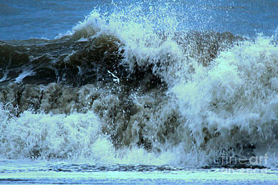 Photograph - Cannon Crashing Waves by Adam Jewell