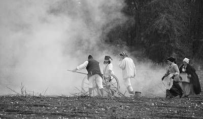 Photograph - Cannon Fire by Linda Brown