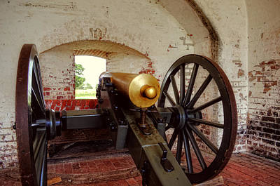 Photograph - Cannon In Fort Pulaski by Greg and Chrystal Mimbs
