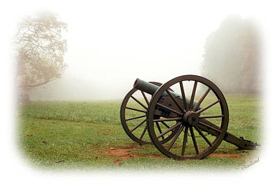 Photograph - Cannon In The Fog by Judi Quelland