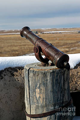 Photograph - Cannon In Turret At Bents Old Fort by Fred Stearns