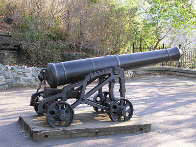 Cannon Art Print by Richard Mitchell