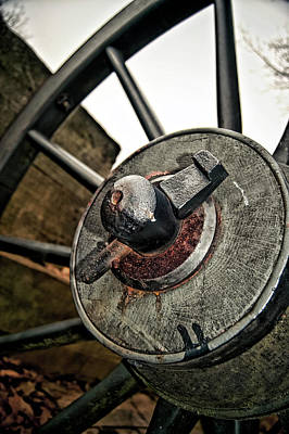 Photograph - Cannon Wheel by Amber Flowers