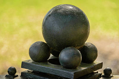 Photograph - Cannonballs by Robert Mitchell