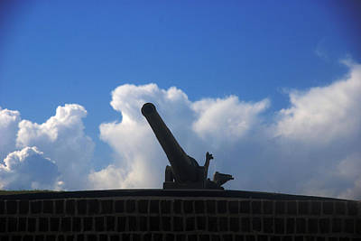 Sullivans Island Sc Photograph - Cannons At Fort Moultrie Charleston by Susanne Van Hulst