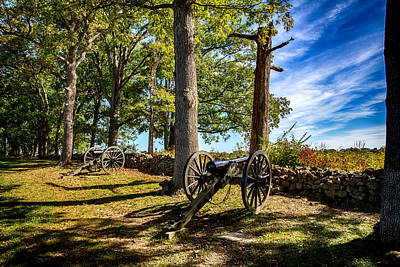 Digital Art - Cannons At Oak Ridge by John Haldane