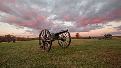 Photograph - Cannons At Sunrise by Jack Nevitt
