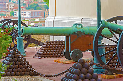 Photograph - Cannons In Monaco by Marek Poplawski