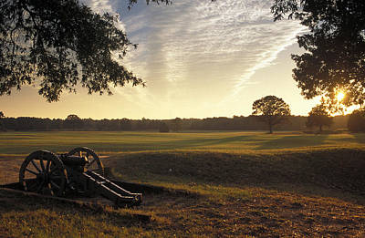 Cannons On The Battlefield Art Print by Richard Nowitz