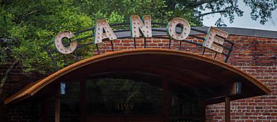Photograph - Canoe Atlanta Vinings Dining Art by Reid Callaway