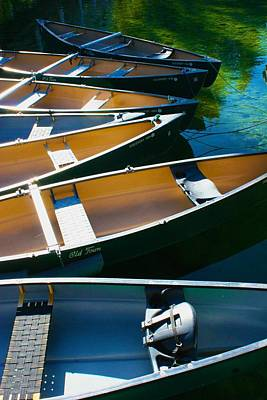 Photograph - Canoe Composition by Polly Castor