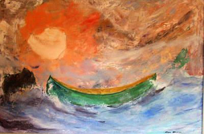 Canoe Original by Gene Garrison