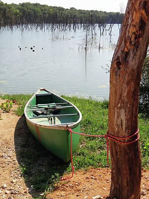 Photograph - Canoe by Jamie Johnson