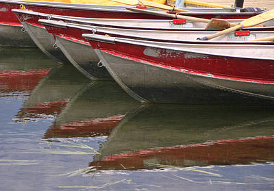 Photograph - Canoe Reflections by Catherine Alfidi
